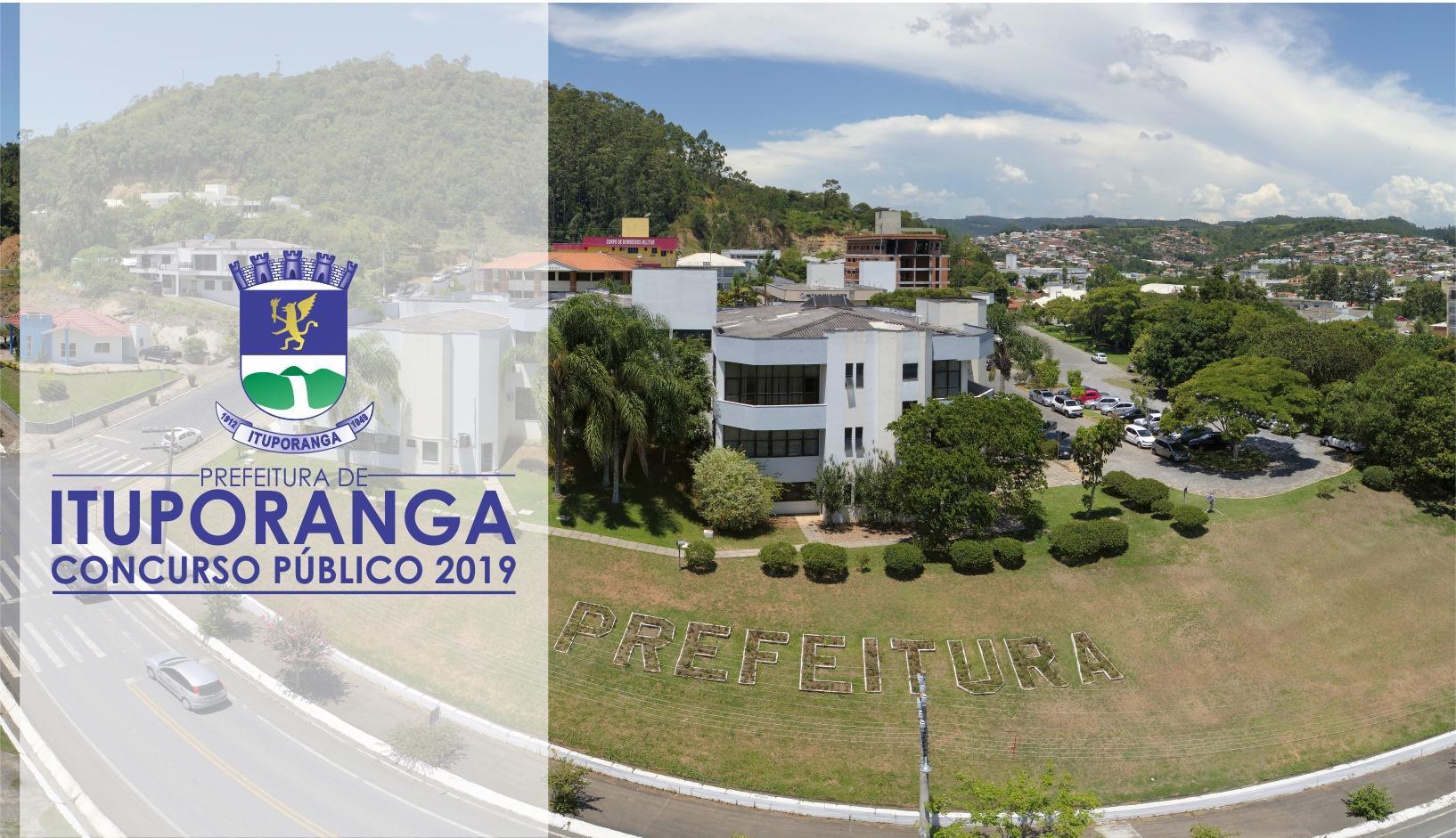 Prefeitura de Ituporanga lança Concurso Público 2019