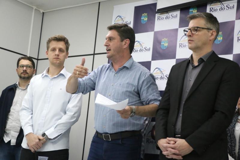 Prefeitura de Rio do Sul rompe contrato com a Casan