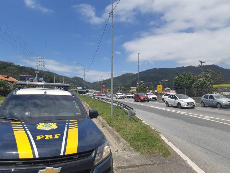 PRF prepara operação de fiscalização nas rodovias federais de SC
