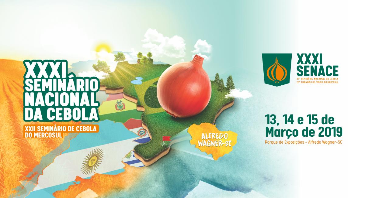 Programação do Seminário Nacional da Cebola de 2019 será apresentada nesta quinta em Alfredo Wagner
