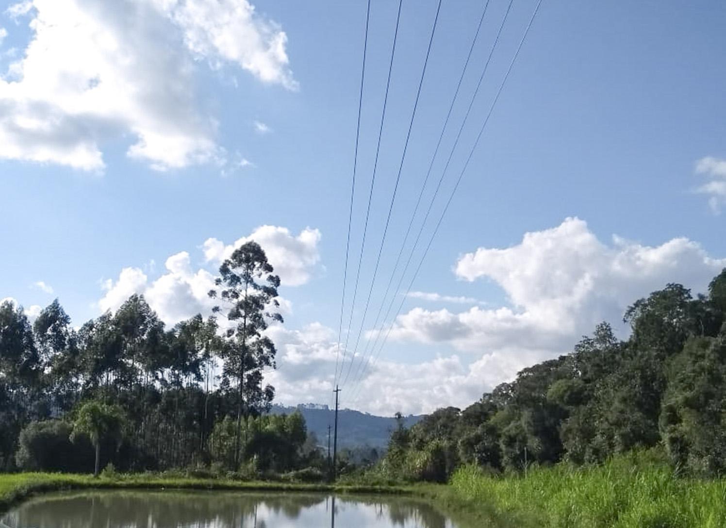 Projeto Celesc Rural já substituiu 88 quilômetros de cabos na Região de Ituporanga