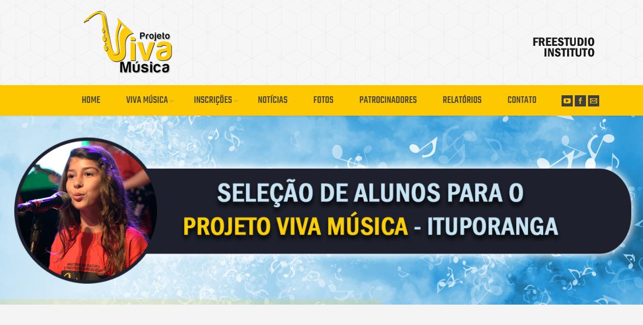 Projeto Viva Música busca contribuir com a qualidade de vida das pessoas em Ituporanga