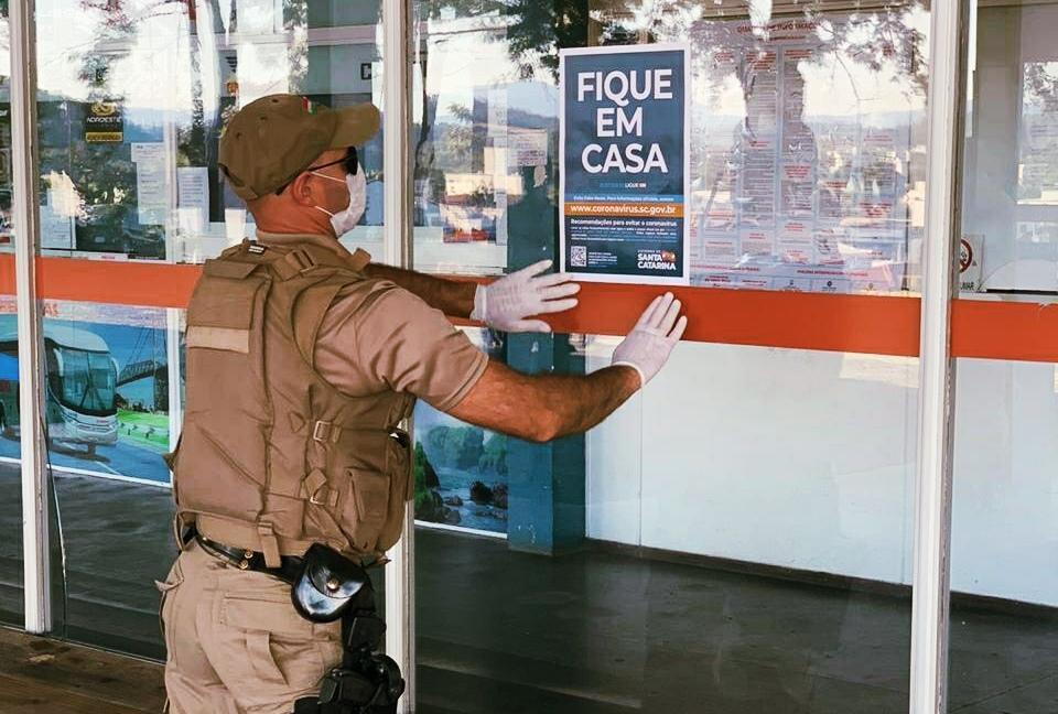 Quarentena: Polícia Militar intensifica ações de orientação e fiscalização de estabelecimentos na Região da Cebola