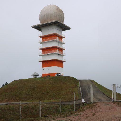 Radar meteorológico de Lontras volta a funcionar depois de meio ano