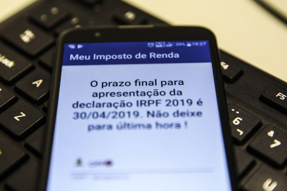 Receita já recebeu 23,9 milhões de declarações de Imposto de Renda