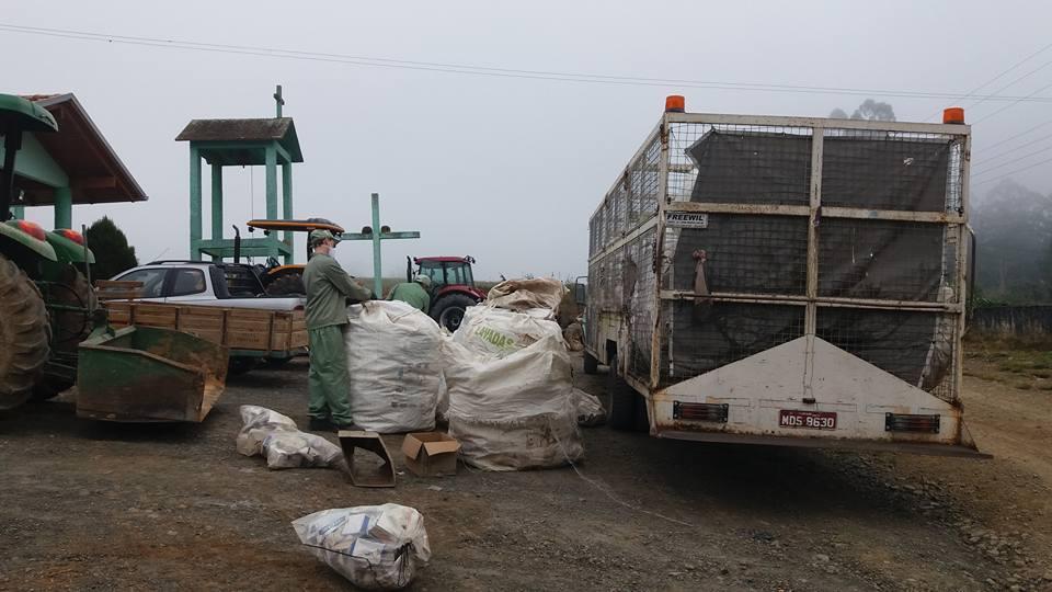 Recolhimento de embalagens vazias de agrotóxicos em Chapadão do Lageado será em setembro