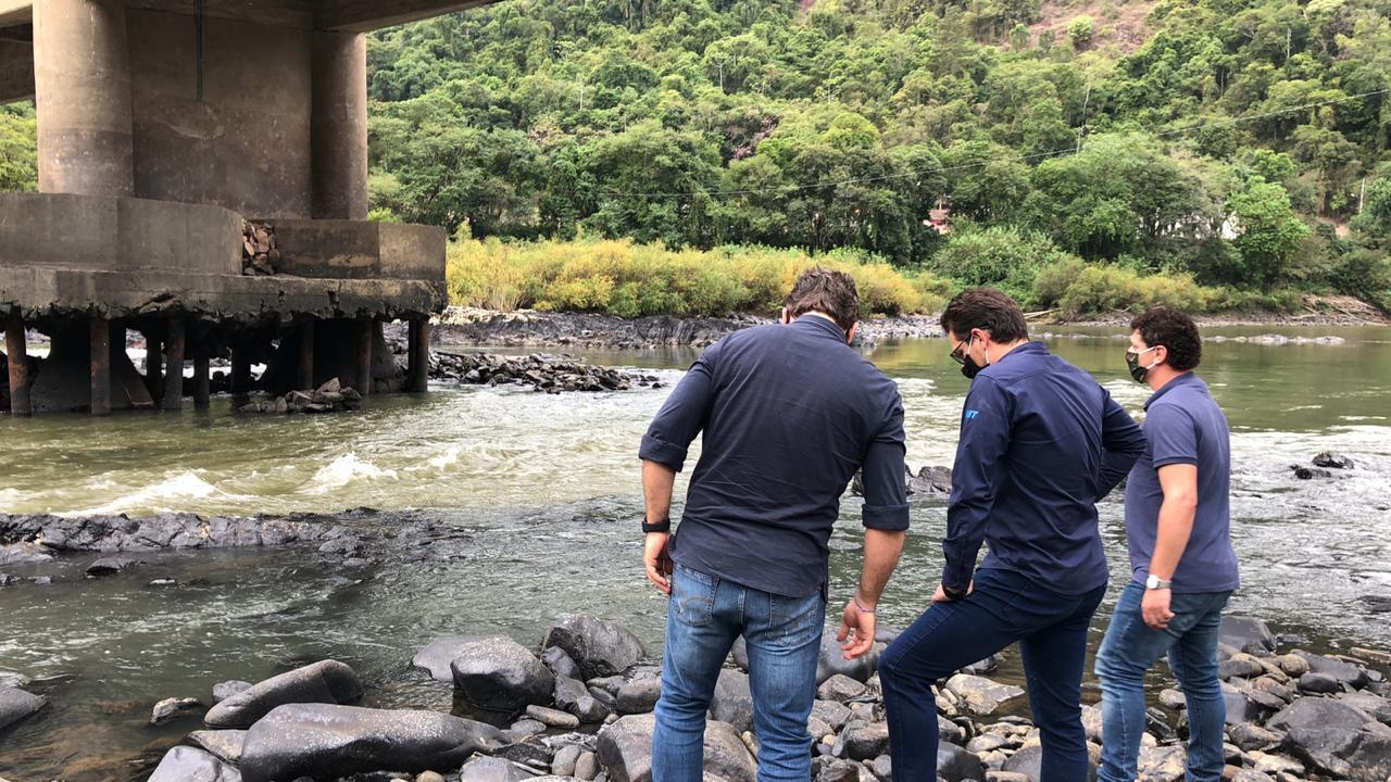Recursos para recuperação da ponte na BR 470 em Ibirama estão garantidos pelo DNIT