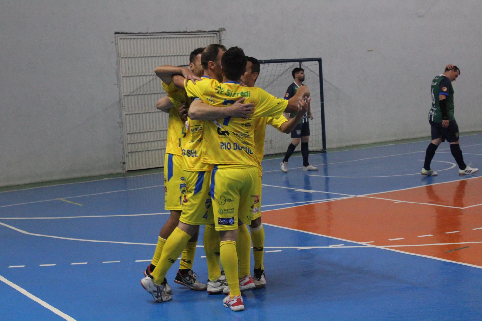 Rio do Sul Futsal joga em casa contra o Maravilha pela Liga Catarinense