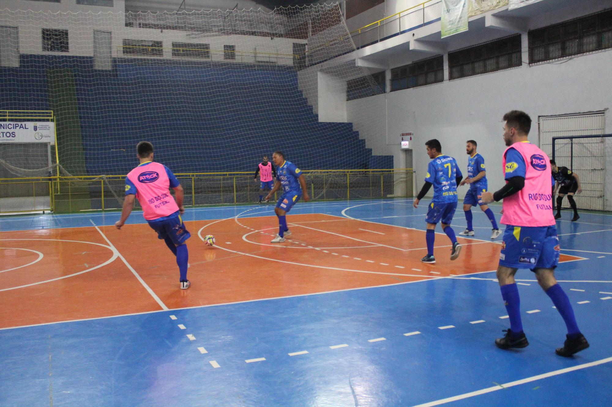 Rio do Sul Futsal recebe Catanduvas pela segunda rodada da Liga Catarinense de Futsal