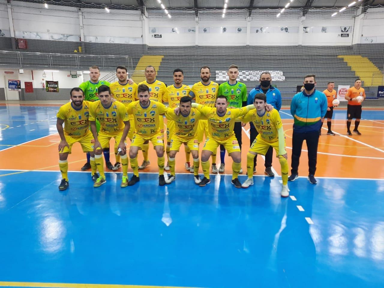 Rio do Sul vence na estreia da Liga Catarinense de Futsal