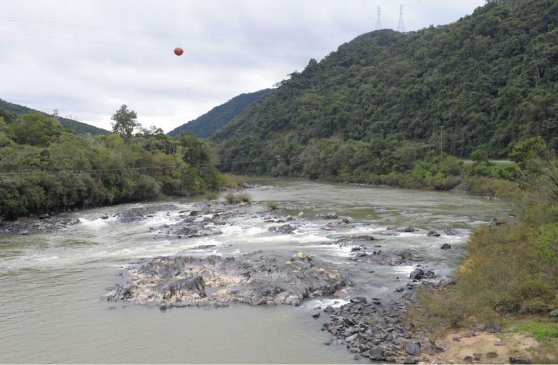 Rios do Vale e Alto Vale têm pontos críticos de estiagem