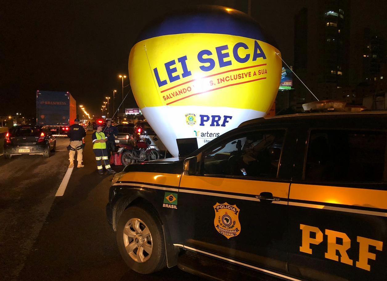 Rodovias federais de Santa Catarina têm 87 registros de embriaguez ao volante durante o final de semana