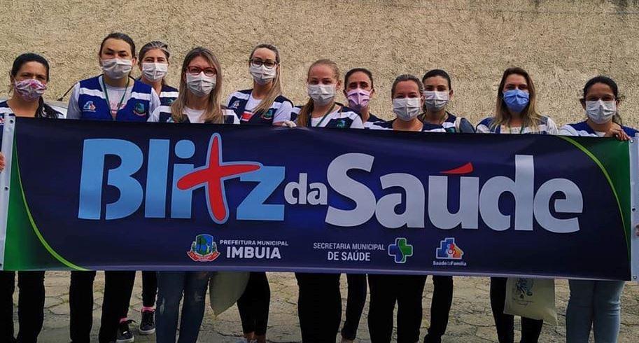 Secretaria de Saúde de Imbuia promove Blitz da Saúde