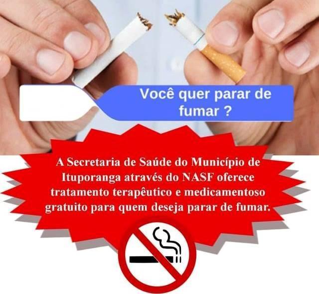 Secretaria de Saúde de Ituporanga promove ação antitabagismo