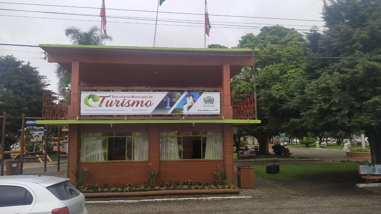 Secretaria de Turismo de Bom Retiro passa a atender em novo local