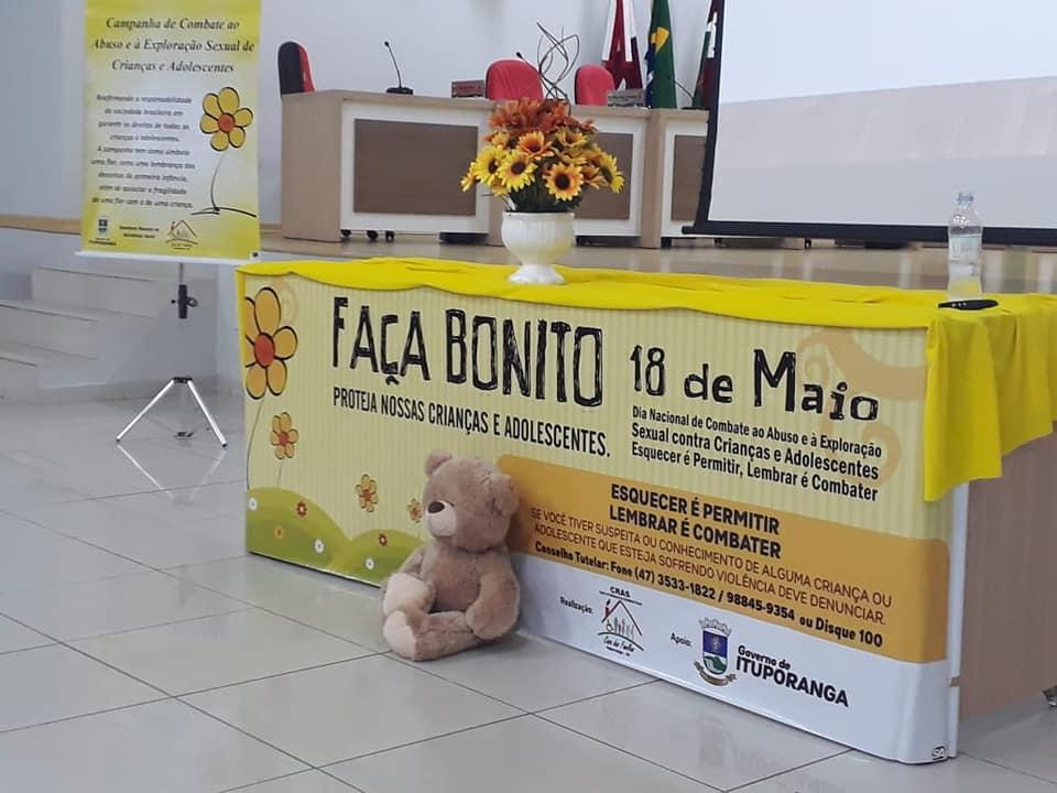 Semana foi marcada por ações contra a Exploração Sexual de Crianças e Adolescentes em Ituporanga