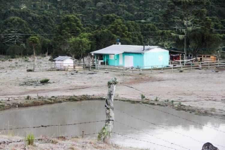 Serra de SC tem temperaturas negativas e registro de geada