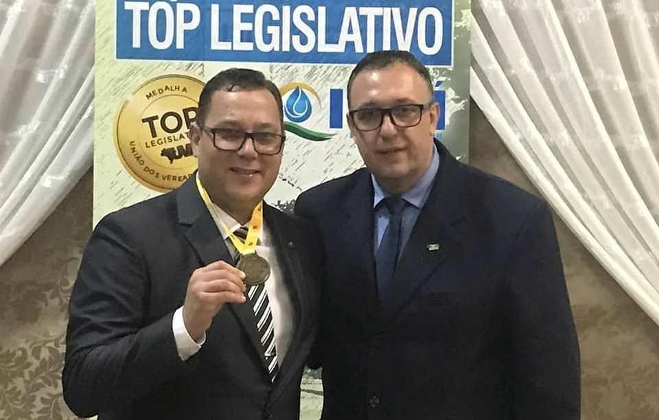 Top Legislativo: Vereador de Ituporanga recebe homenagem no Rio Grande do Sul