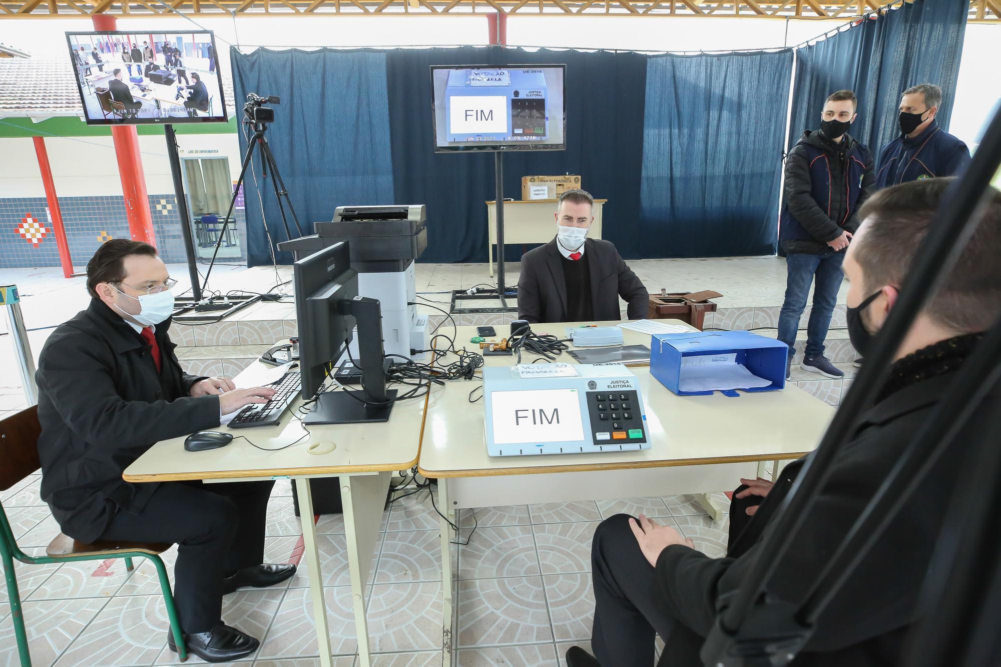 TRE-SC e Polícia Militar avaliam eleição suplementar em Petrolândia