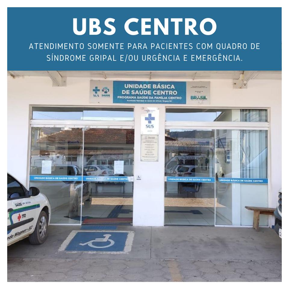Unidade Básica de Saúde do Centro de Alfredo Wagner sofre mudanças no atendimento