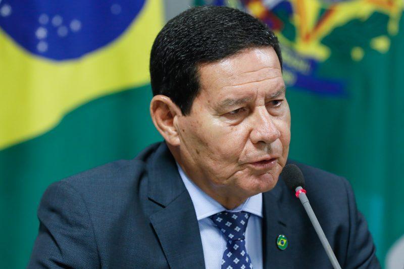 Vice-presidente Mourão testa positivo para Covid-19