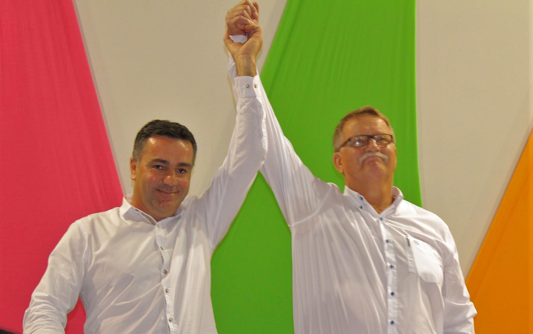 Vidal Ramos começa semana com novo prefeito e vice