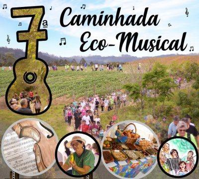 Vidal Ramos se prepara para a 7ª Caminhada Eco Musical
