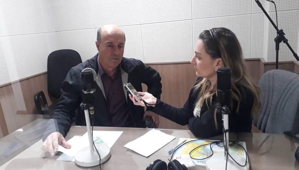 Deputado Estadual José Milton Scheffer (PP) em entrevista a Jornalista Adriane Rengel