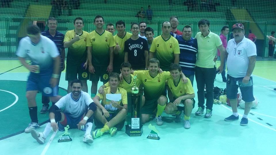 1º Lugar Futsal Livre- 1ª divisão