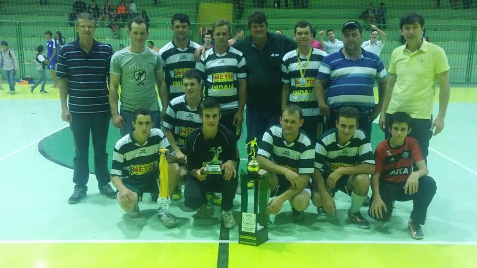 1° Lugar Futsal Livre - 2ª divisão