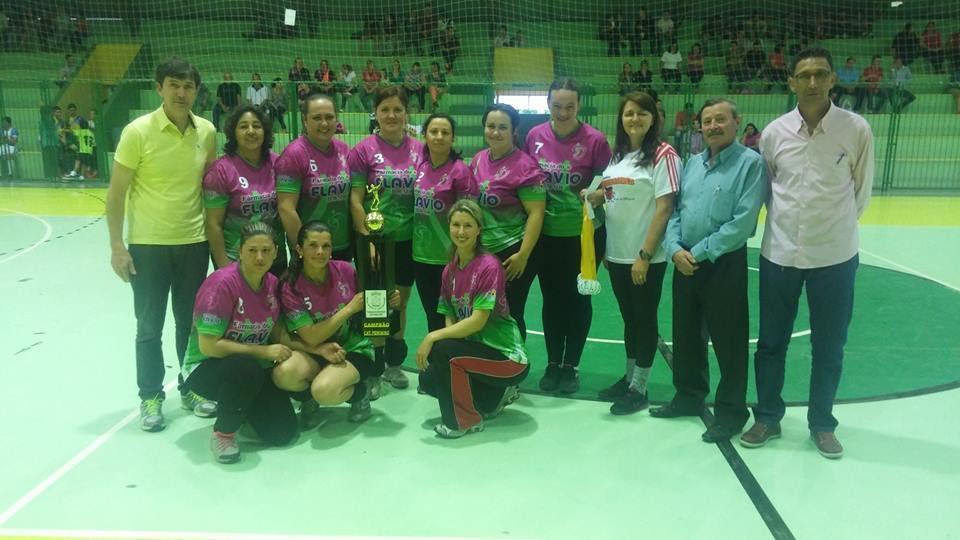 1º Lugar Voleibol Feminino