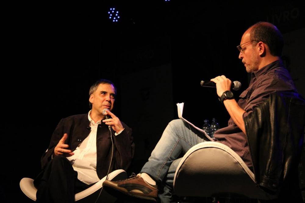 Arnaldo Antunes e Márcio Vassallo - Foto Tiago Amado