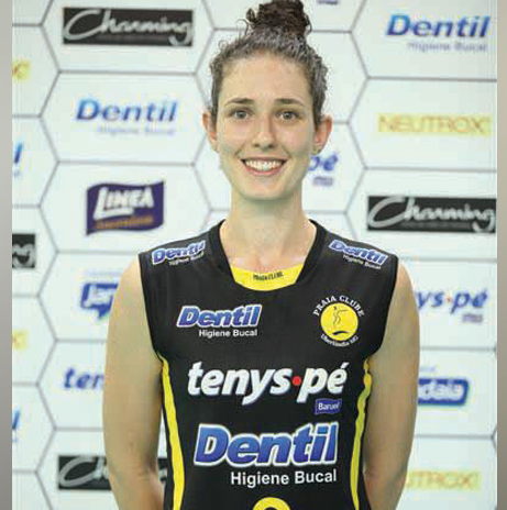 Fran Tomazoni - Levantadora (Foto: Divulgação)