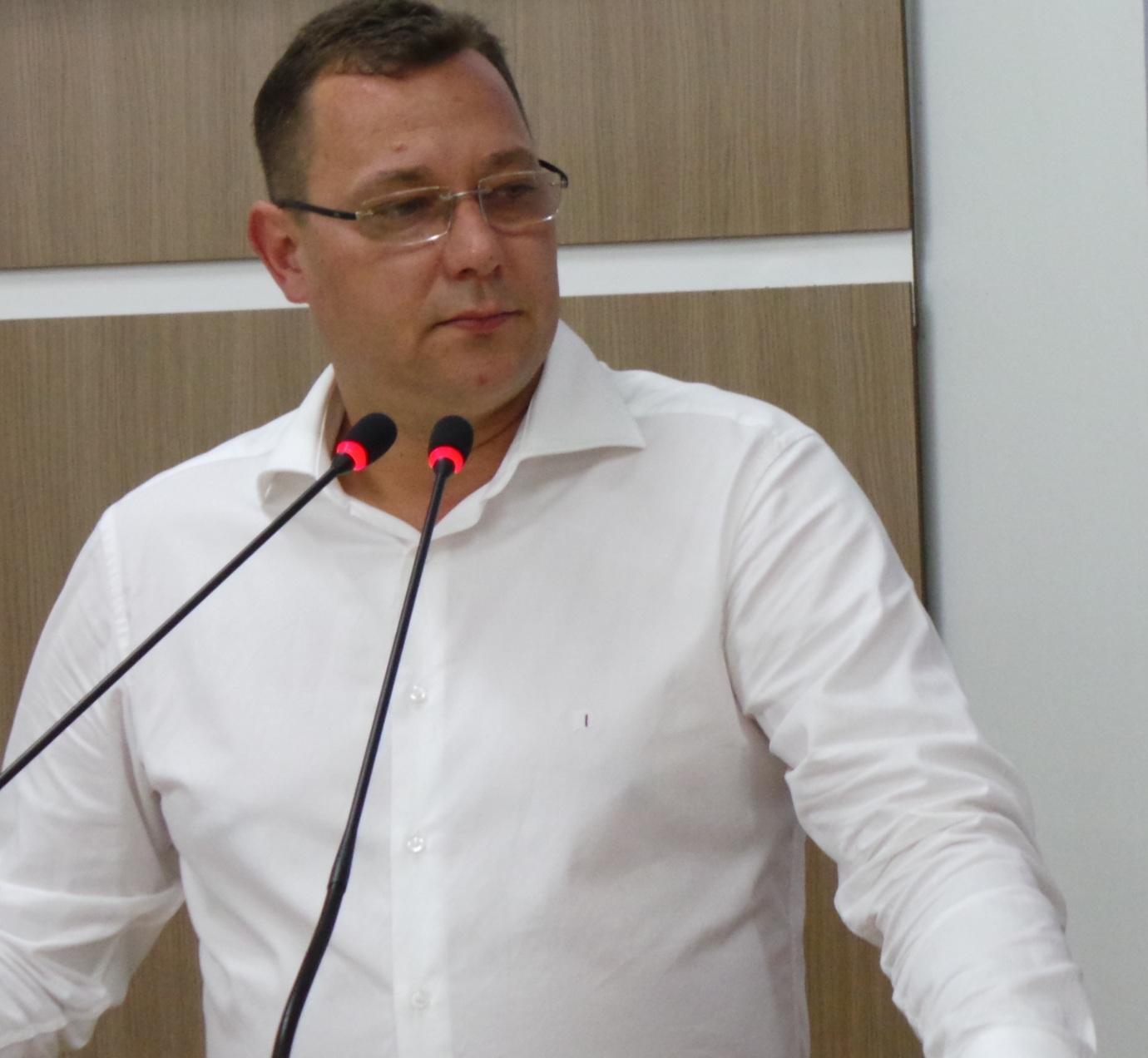 Presidente da Câmara de Vereadores de Ituporanga, Adriano Coelho (PP)
