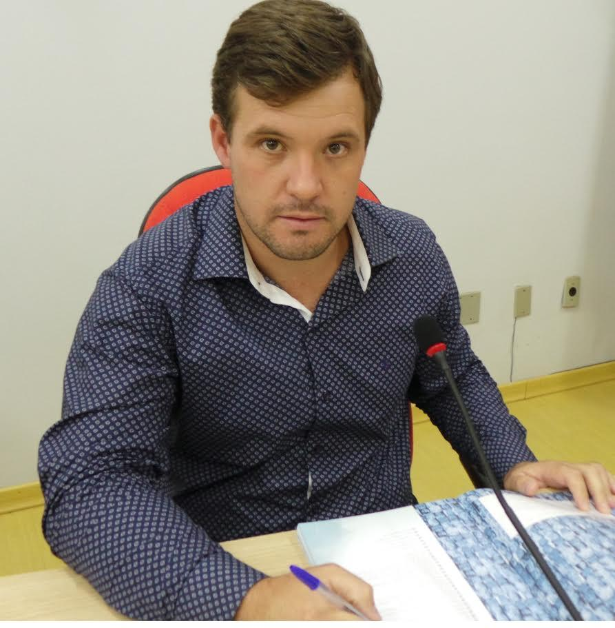 Vereador Diogo Gastaldi (PMDB)