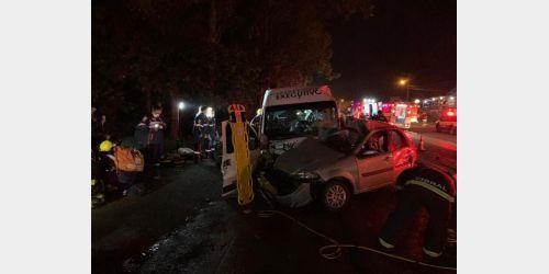 Acidente que matou três jovens em Blumenau alerta para o uso do cinto de segurança