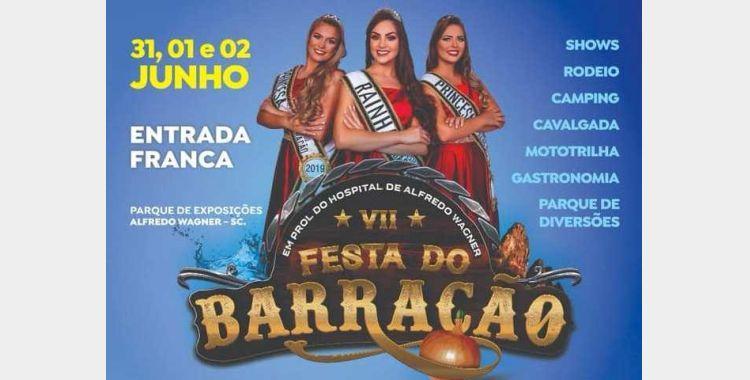 Administração de Alfredo Wagner prepara 7ª Festa do Barracão
