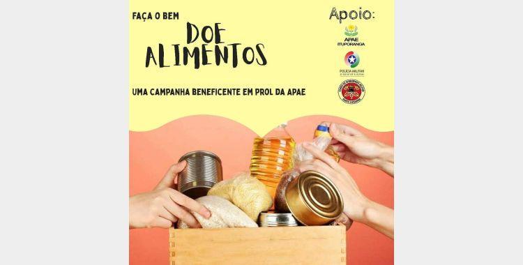 Apae de Ituporanga promove campanha para arrecadar alimentos e produtos de higiene e limpeza