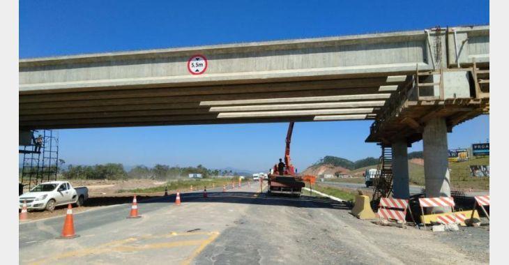 BR-470 ficará com o trânsito em sistema siga e pare nesta quarta-feira, em Ilhota