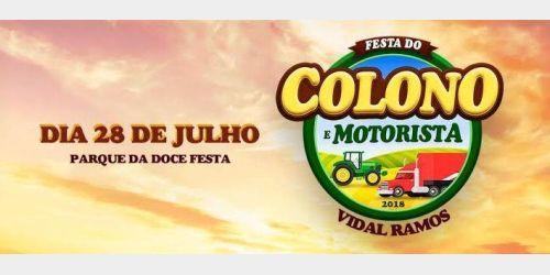Candidatas disputam coroa de rainha da Festa do Colono e Motorista de Vidal Ramos