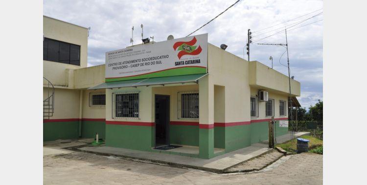 Casep de Rio do Sul está fechado temporariamente