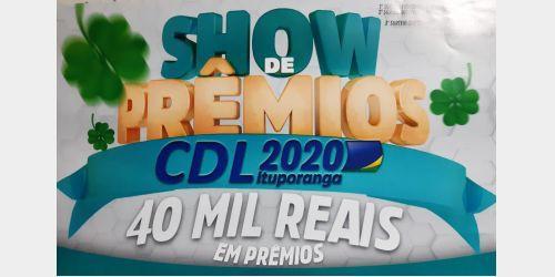 CDL de Ituporanga lança o Show de Prêmios 2020