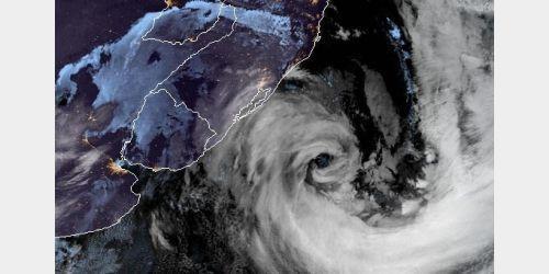 Ciclone em SC teve ventos de até 168 km/h, maior velocidade já registrada pela Epagri
