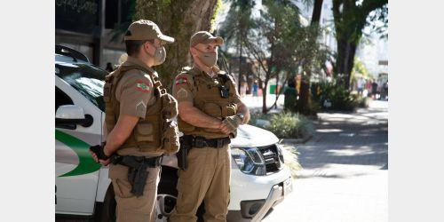 Comandante da Polícia Militar fala sobre a fiscalização referente o Lockdown, em Ituporanga foram fiscalizados 141 locais