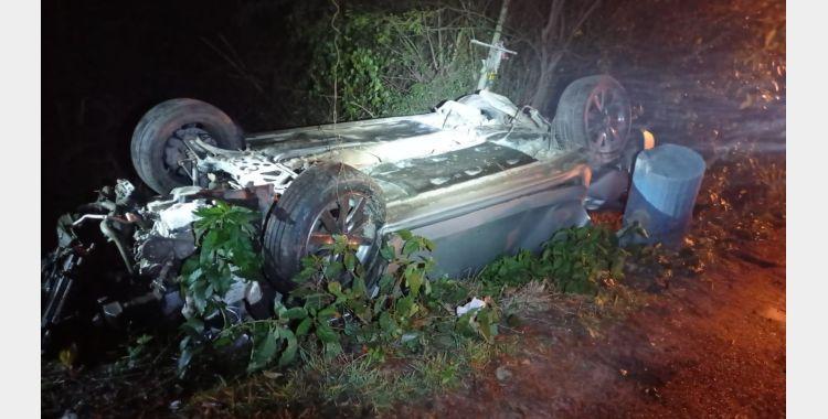 Dois motoristas são presos por embriaguez ao volante após se envolverem em acidentes na BR-470