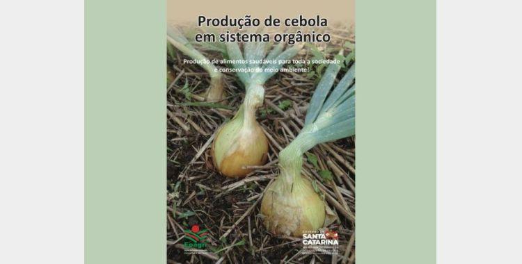 Epagri de Ituporanga lança cartilha sobre produção de cebola orgânica