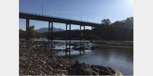 Estiagem afeta mais da metade dos rios de SC
