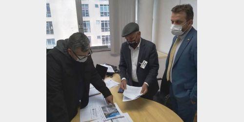 Gervásio Maciel entrega pedido para implantação de ciclovia no projeto de revitalização da SC-350