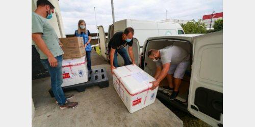 Governo do Estado inicia distribuição das doses da vacina Oxford-AstraZeneca para municípios catarinenses