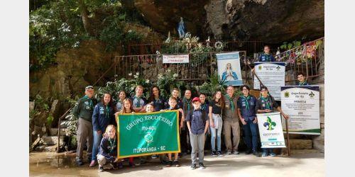 Grupo Escoteiro Itu-Açu de Ituporanga comemora o Dia Mundial do Escoteiro
